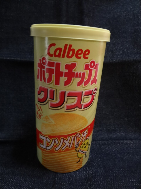 ☆ポテトチップス クリスプ(コンソメパンチ):Calbee 購入価格 84円