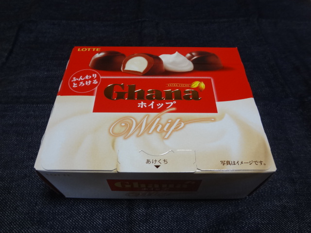 ☆Ghana ホイップ:LOTTE 購入価格218円